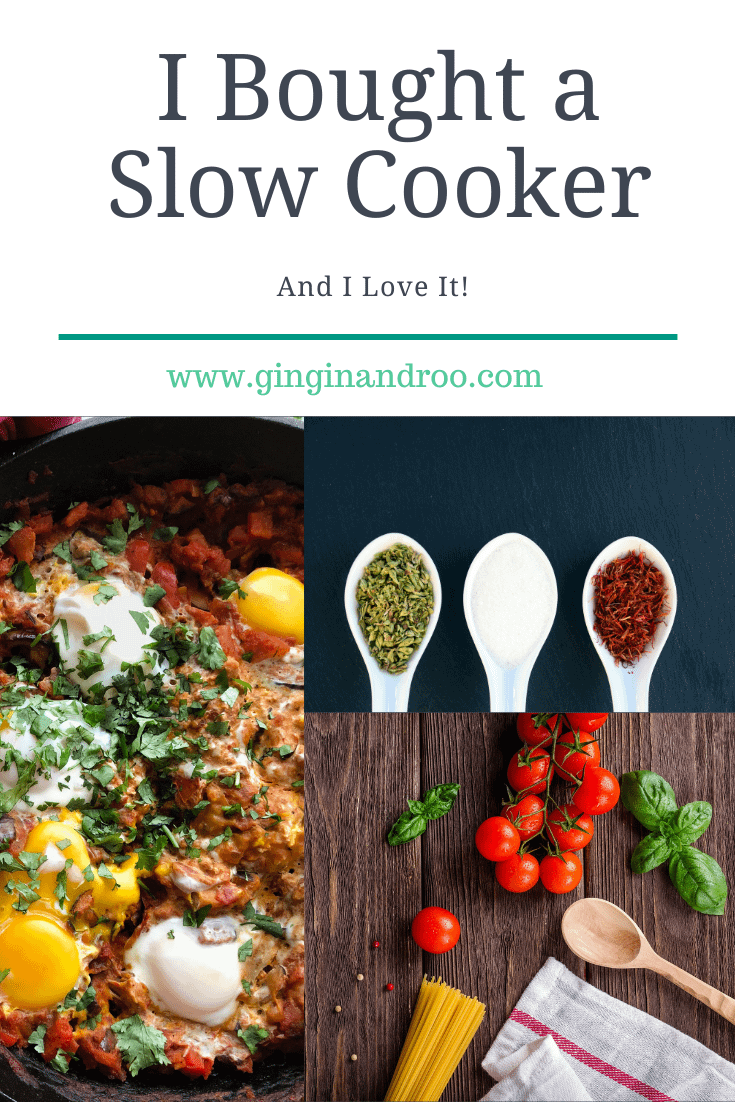 I bought a slow cooker and you should too. Find out why in this article by award-winning blogger GinGin & Roo