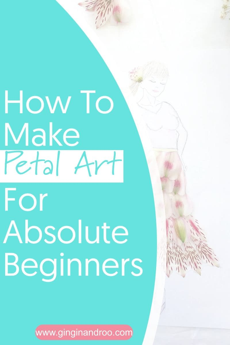 How To Make Petal Art For Absolute Beginners