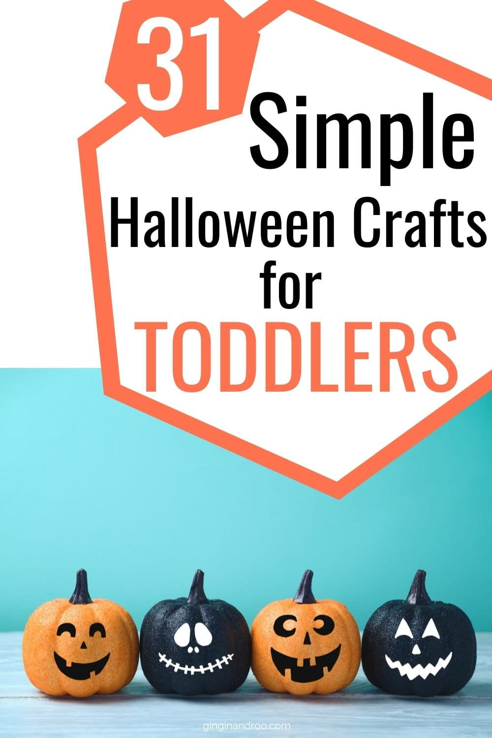 31 Simple Halloween Crafts for Toddlers