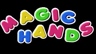Children's TV programme Magic Hands logo