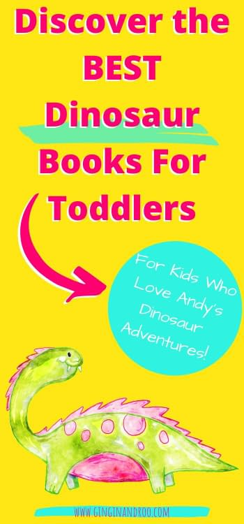 Everyone knows at least one kid that loves dinosaurs! Both my girls absolutely love dinosaurs and have since they were toddlers. So I've compiled this short list of the best dinosaur books for toddlers and preschoolers.  #dinosaurbooksfortoddlers #dinosaurbooks #toddlerbooks