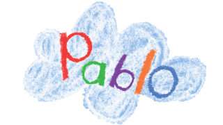 Children's TV programme Pablo logo