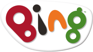 Children's TV show Bing logo