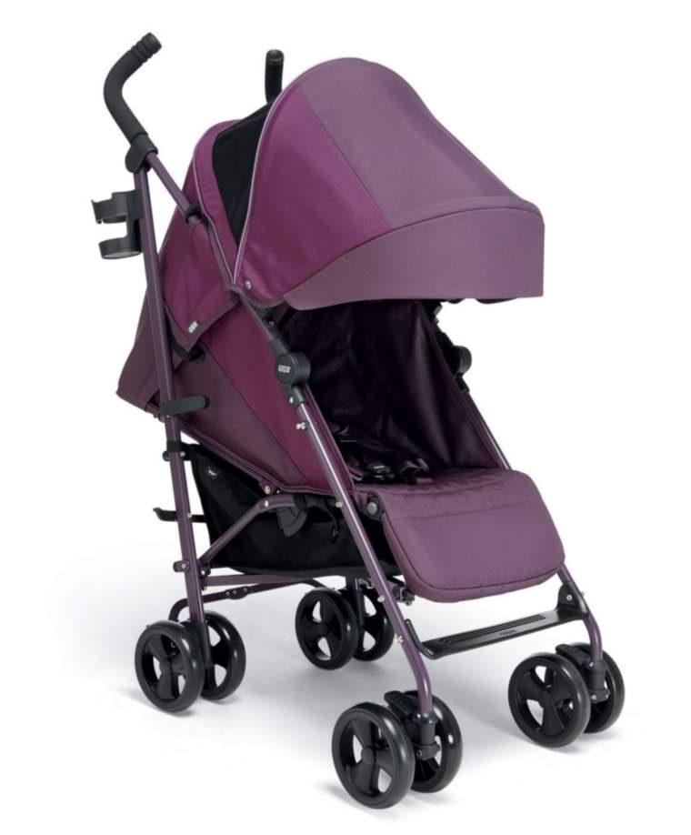Mamas & Papas Tour 3 suburban stroller plum