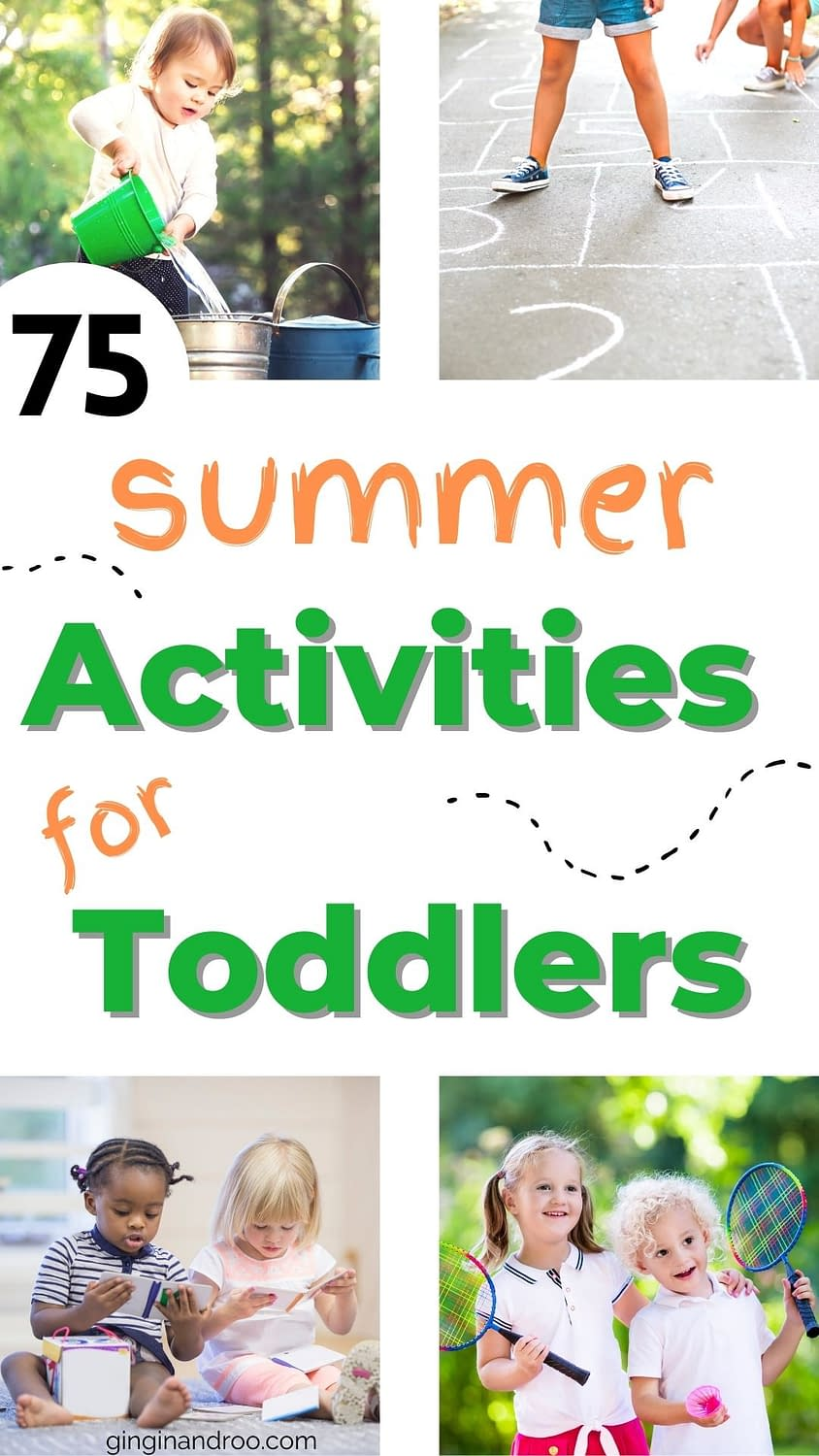 75 Summer Activities for Toddlers