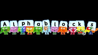 Toddler TV show Alphablocks Logo