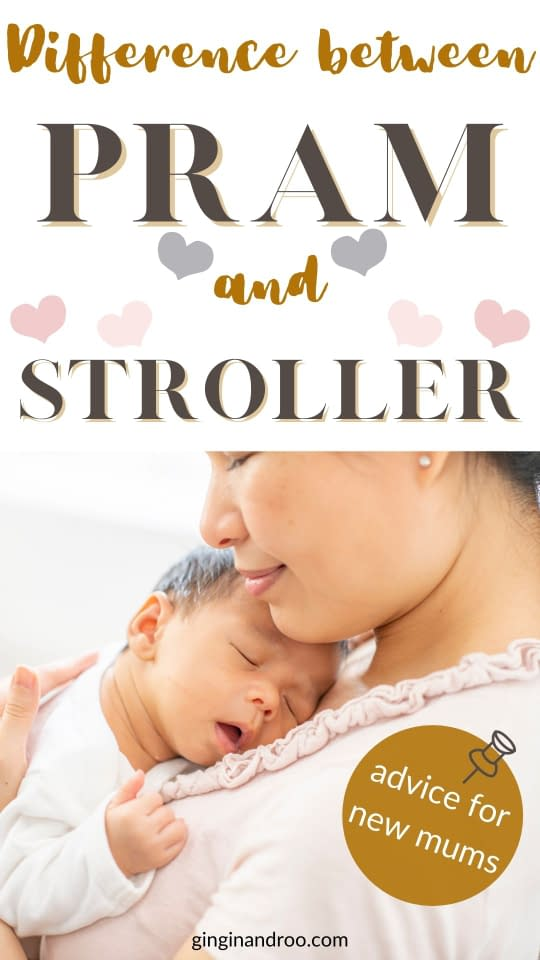 If you're expecting your first baby, you might be wondering what's the difference between a pram and a stroller. Here we'll uncover the main differences and discover why you'll probably need both - eventually.