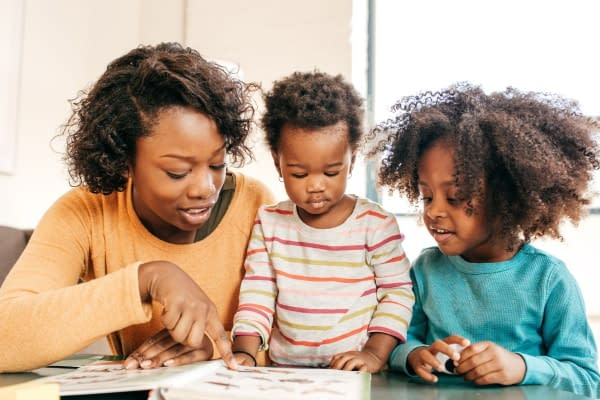 Activities for toddlers and preschoolers - reading