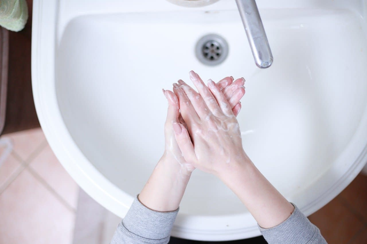 Hand washing is vital to protect us from spreading Coronavirus