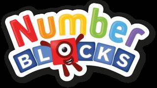 Toddler TV show Number blocks logo