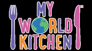 Children's TV show My World Kitchen logo
