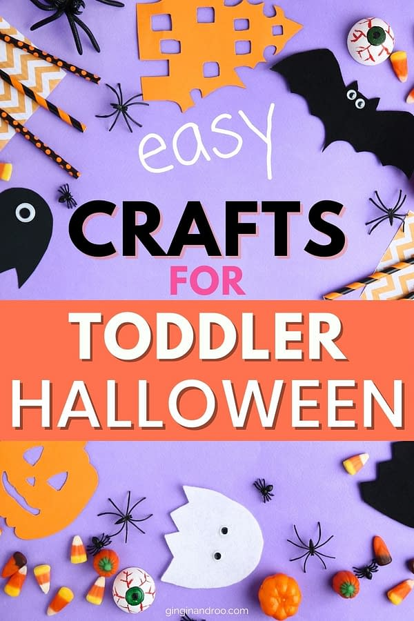Easy Crafts for Toddler Halloween